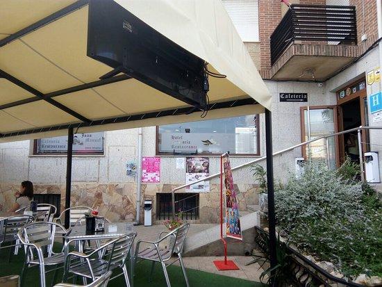 Province of Zamora, Espagne : Cafeteria- Restaurante Juan Manuel