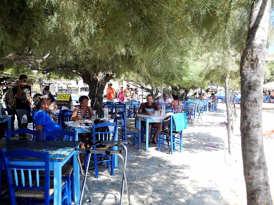 Moutsouna, Grecia: Tavoli