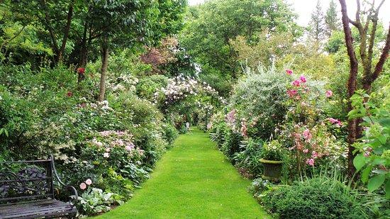 Allee Centrale Picture Of Jardins D Angelique Montmain Tripadvisor