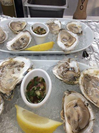 Bridgton, ME: Oysters