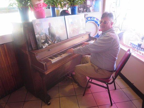 Kansas City Barbeque: At The Top Gun Bar. On The Original Piano.