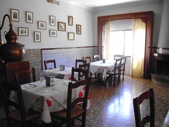 Hotel El Mirador de Rute: Cuisine super soignée  août 2016 DIDIER ET MARIE -PIERRE
