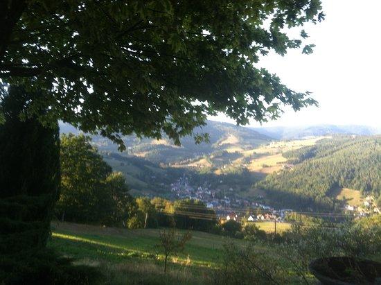 Lapoutroie, Frankrike: Bei diesem herrlichen Ausblick íst man nur noch am Schauen