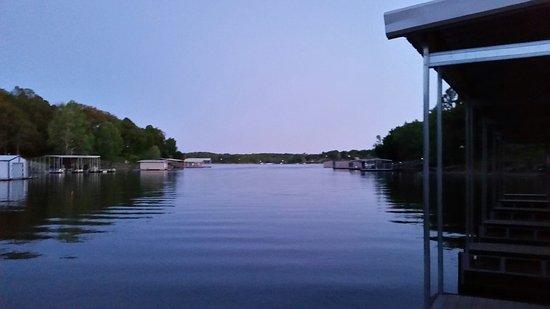 Grove, OK: Dusk - View From Docks