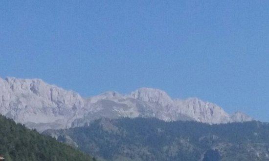 Cantoniera della Presolana, איטליה: Massiccio della Presolana