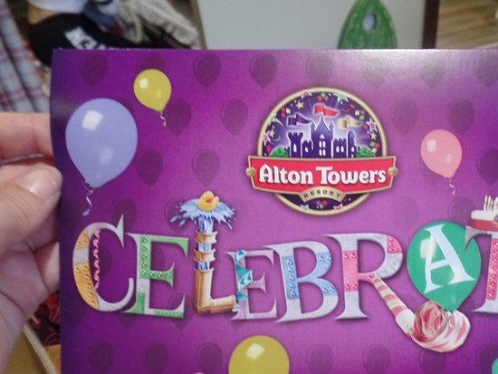 Enchanted Village Lodges Alton Towers Resort Birthday Card