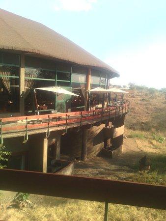 Viewing from lodge Tarangire sopa lodge