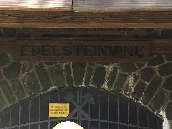 Idar-Oberstein, Germany: Edelsteinminen