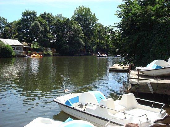 Clecy, Francia: Vue du ponton