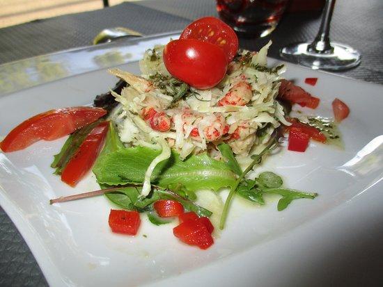 Vincennes, Frankrike: La (délicieuse) salade d'écrevisses