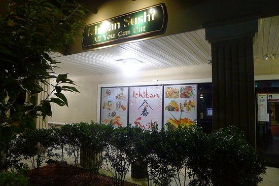 Plainsboro, NJ: The outside of Ichiban