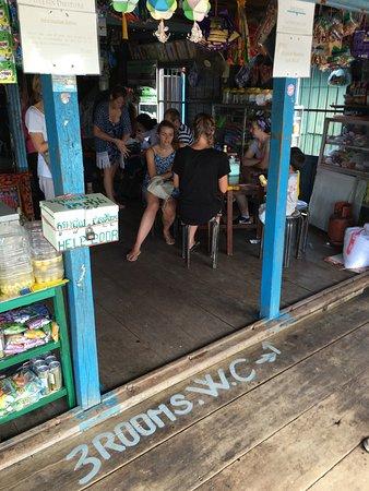 Battambang, Kambodża: lunch stop