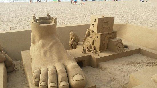 Playa de Las Canteras: 20160826_201438_large.jpg