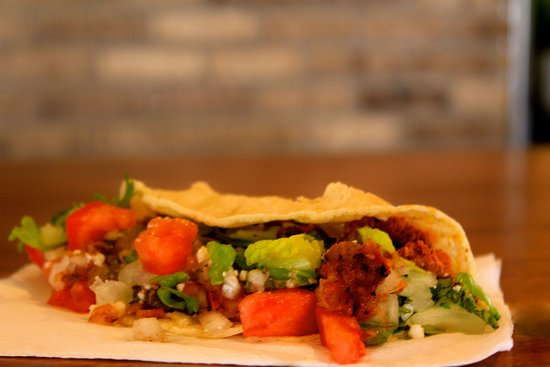 Ivins, UT: They have tacos on mondays, steak, chicken, or pork. Choose your own toppings!