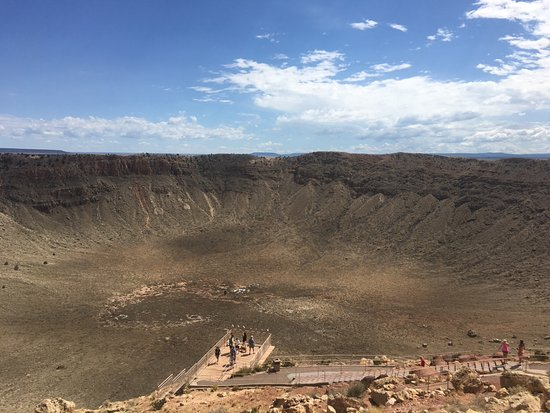 Winslow, AZ: Meteor crater quick visit but you have to pay$$