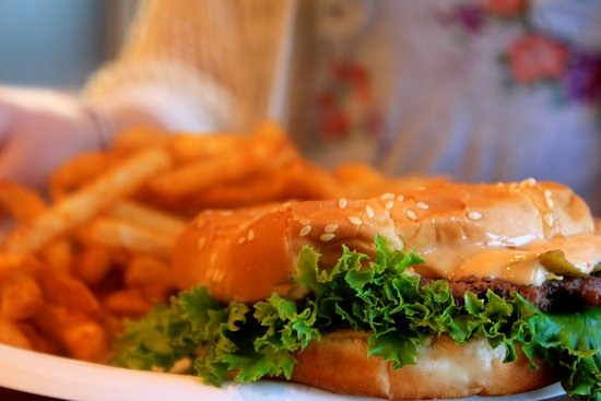 Ivins, UT: Green chile chipotle sandwich and cajun fries. Craving it 24/7!