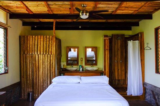 Balgue, Nicaragua: Master bedroom of the Volcano View Luxury Suite