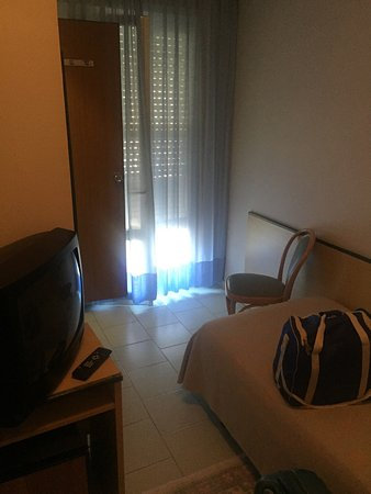 Ambasciatori Palace: Vidta esterna e camera singola! :-(