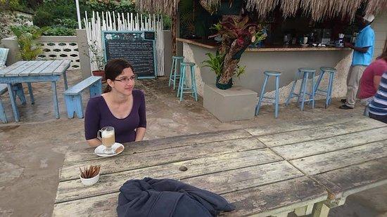 Ponta do Ouro, Mozambik: Mango Cafe