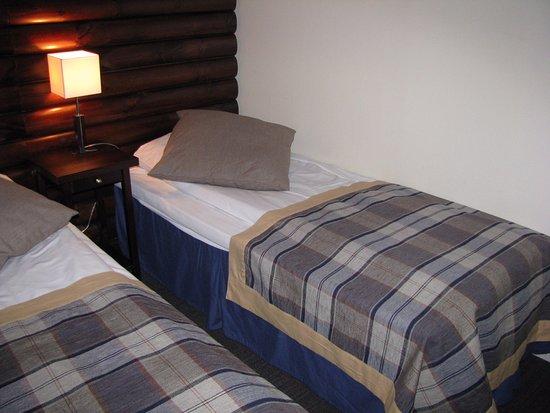 Lakselv, Norge: una immagine della stanza in cui ho dormito