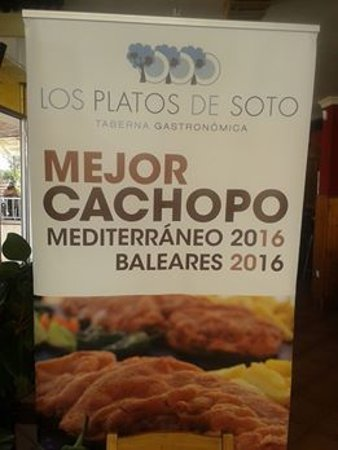 Cas Català, España: Cachopo premiado