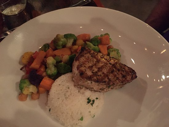 De Pere, WI: Custom prepared grilled swordfish