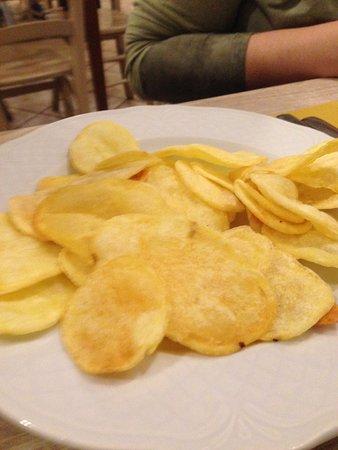 Carsoli, Italia: Patate fritte