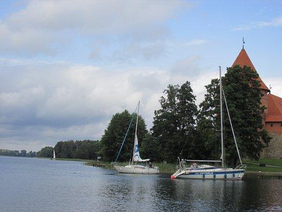 Trakai, Lithuania: imbarcazioni per giro intorno al lago