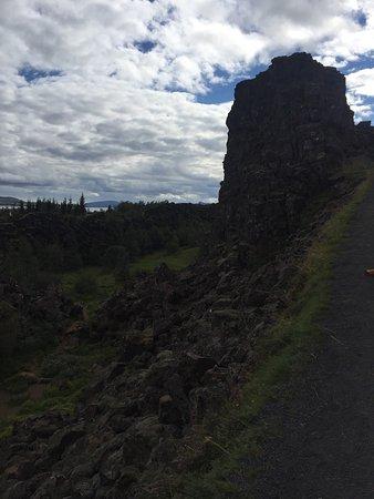 Тингвеллир, Исландия: The rift area at Thingvellir