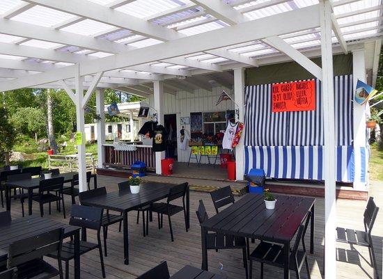 Surahammar, Sweden: Den gamla kiosken har blivit thaikök