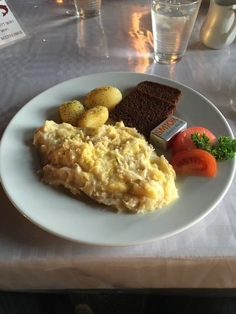 Hotel Laxarbakki : The expensive fish stew