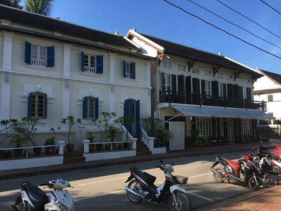 The BelleRive Boutique Hotel: outside view
