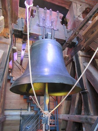 Hradec Kralove, Czech Republic: Zvon uvnitř věže