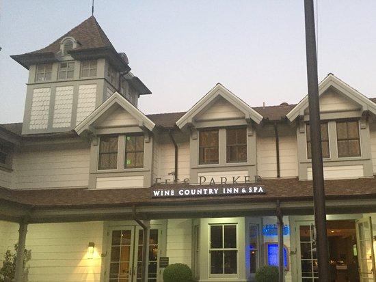 Los Olivos, CA: L'ingresso dell'hotel