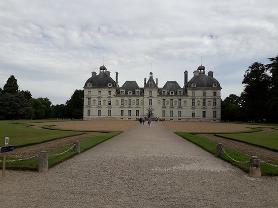 Cheverny, Francia: fachada principal.