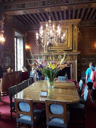 Cheverny, Francia: salón.