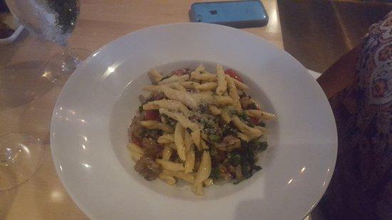 Гринвич, Коннектикут: penne pasta