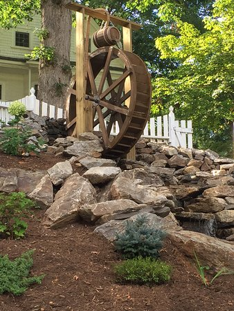 Waynesville, Βόρεια Καρολίνα: Water Wheel