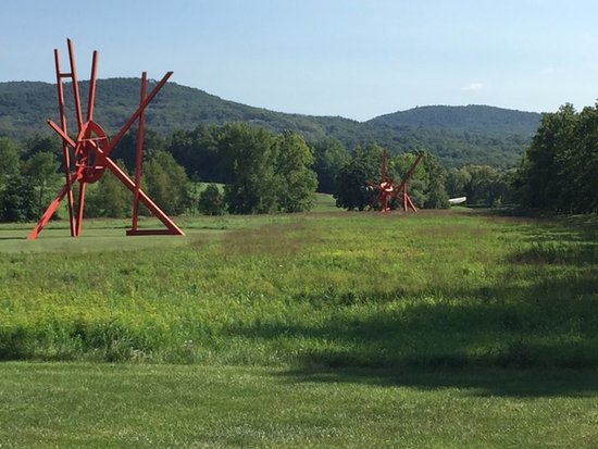 New Windsor, NY: Two pieces by Mark Di Suvero, in South Fields.