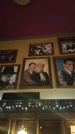 Supano's Steakhouse : Is that Shirley MacLaine