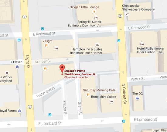 Google Map of Supano\'s - Picture of Supano\'s Steakhouse ...