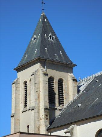 Église Saint-Germain de Pantin: Le clocher