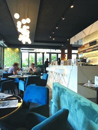 Levallois-Perret, Γαλλία: Salle de restaurant