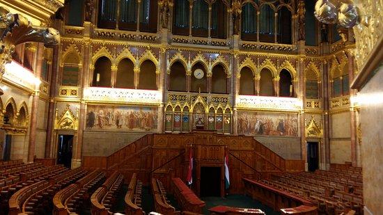 Parlamentet (Orszaghaz): Αιθουσα κοινοβουλιου