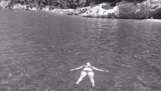 Skiathos Town, Grekland: totally relaxed