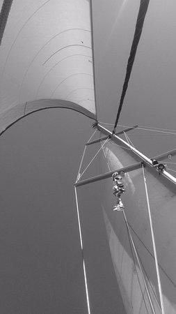 Skiathos Town, Greece: sailing............