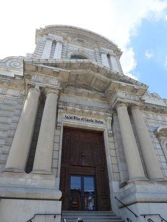 National Shrine of St. Rita of Cascia : Church Entrance
