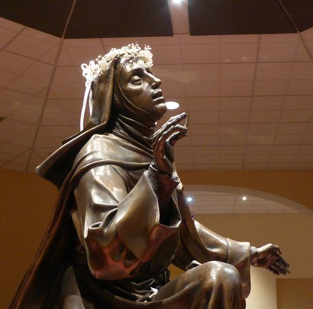 National Shrine of St. Rita of Cascia: St Rita Statue