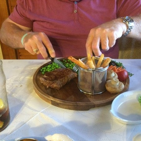 Dounby, UK: Fillet steak - superb
