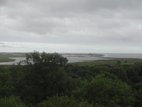 Harlech, UK: View from the farm park